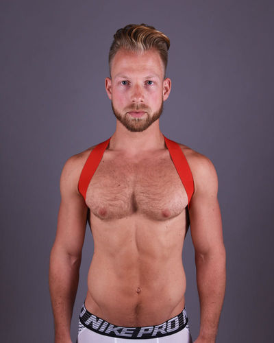 Red Sling Harness