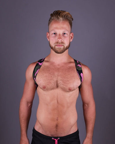 Army Pink Sling Harness