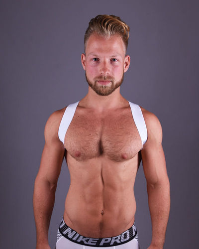 White Sling Harness